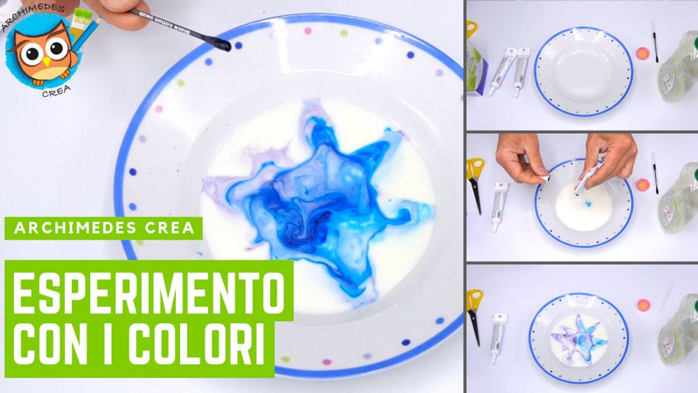 Un esperimento con i colori