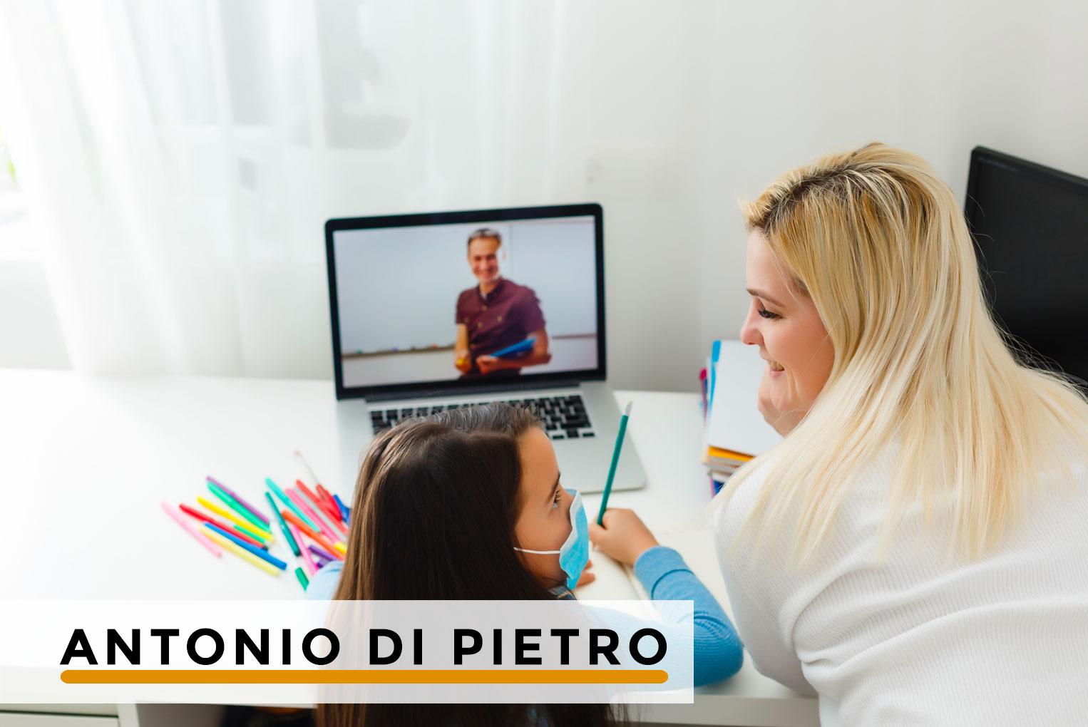"""Didattica del """"se"""". Apprendimenti divertenti… a distanza – PER SOCI – di Antonio Di Pietro"""