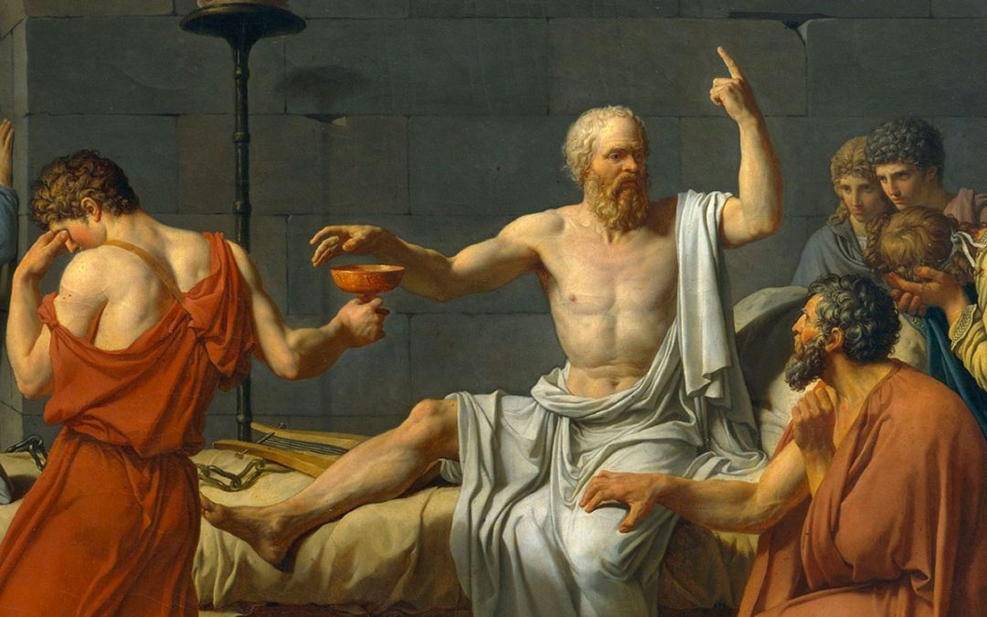 Socrate gran scocciatore!