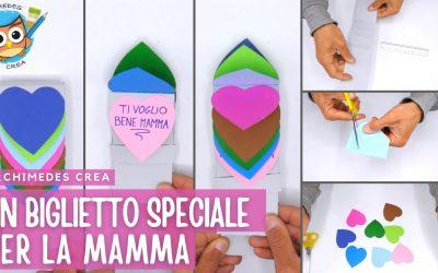 Un biglietto speciale per la mamma